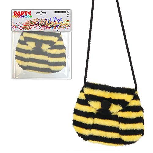 PARTY DISCOUNT ® Tasche Biene aus Plüsch