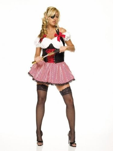 Leg Avenue 83088 - Pirate Wench Kostüm, Größe: XL, - Pirate Wenches Kostüm