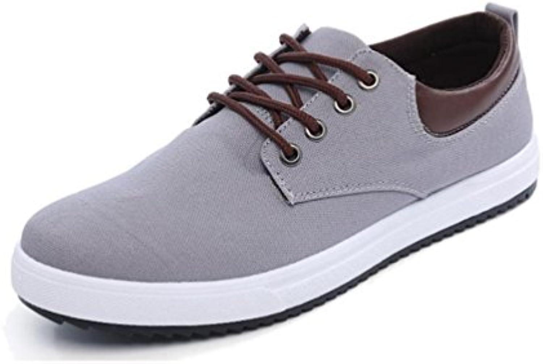 Hombres Zapatos Casuales Verano Cómodos Pisos Zapatos de Moda Suave