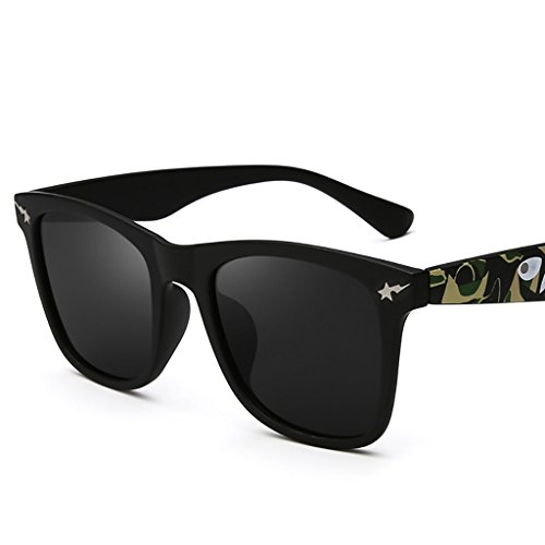 Ppy778 Neueste Sonnenbrillen polarisiert für Männer Frauen , Blendschutzbrille UV Schutz (Color : 4)