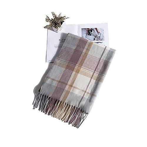 9831c8b8a6a9b1 Multi-Scarf Schal Schals Scarf Cape Tucher Herbst und Winter warm Quaste  weiblicher Winter frisch