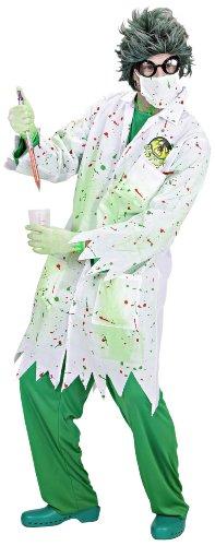 Imagen de widman  disfraz de científico loco para hombre, talla l s/98933