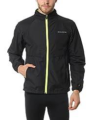 Ultrasport Endurance Prudhoe - Chaqueta de correr para hombre, color negro, talla S