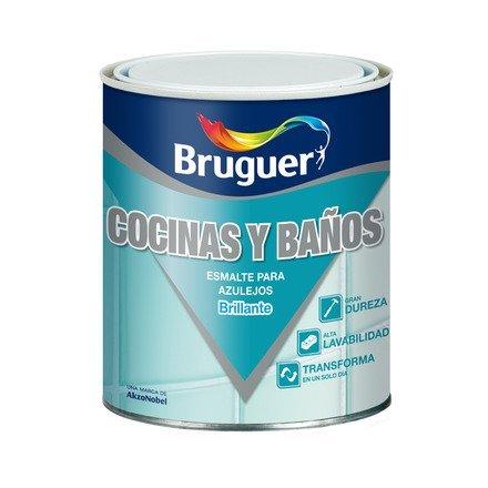Bruguer 5075264 - Esmalte para azulejos brillante BLANCO HARINA Brugue