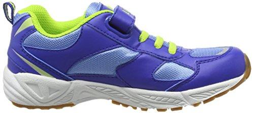 LicoBob Vs - Scarpe Sportive Indoor Bambino Blau (blau/lemon)
