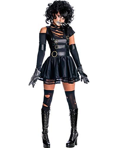 GoLoveY Edward Schere Hände, Kostüme für Frauen, geheime Wünsche, Cosplay-Kostüm, Vampir-Kostüm, Party-Outfit - Schwarz - X-Large -
