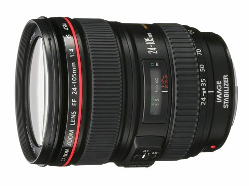 Canon EF 24–105mm f/4L IS USM-Objektiv (18/13, 7,7cm, 24–105mm, schwarz) (Xs Rebel Canon Eos)