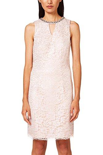 ESPRIT Collection Damen Partykleid 038EO1E027, Rosa (Pastel Pink 695), 38