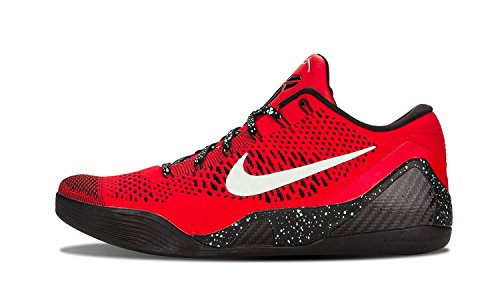 lite Low Basketball Shoes, University Red/Schwarz, 47.5 D(M) EU/12.5 D(M) UK (Nike Kobe)
