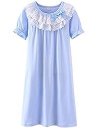 Camicia da Notte per Bambini Colore: Bianco/Blu La Reine des Neiges da 3 a 8 Anni