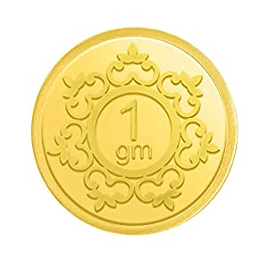 Candere By Kalyan Jewellers Gold 1 Gm, 24K (999) Yellow Gold Precious Coin