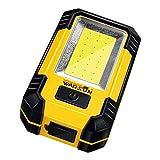 Taschenlampen Führte Arbeitslicht Selbstreparaturreparaturlicht Blendung Super Helle Aufladung Multifunktionsgeschenk (Color : Yellow, Size : 6.8 * 11 * 3.5cm)