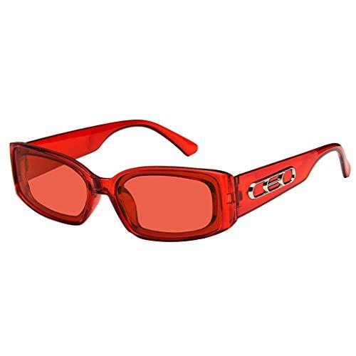 EUCoo Sonnenbrille Uv-Schutz Freiensport Art Und Weise Glaszusatz Damen FäHrt Sonnenbrille