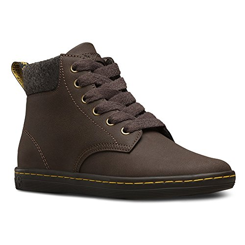 Dr.Martens Womens Maelly Leather Boots Brown