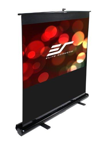 Elite Screens F100NWH ezCinema Series Leinwand (Diagonal 254 cm (100 Zoll), Höhe 124,5 cm (49 Zoll), Breite 221,5 cm (87,2 Zoll), Format 16:9) schwarz Diagonale Elite Screens
