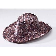 784c52b338a13 DISBACANAL Sombrero Cowboy Serpiente - Marrón