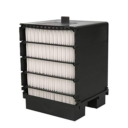 Multifunktions-Mini-Luftkühler, tragbarer Klimaanlagenlüfter, USB-Kleinventilator im Freien, bunte LED-Lichter, 165x165x190CM filter -