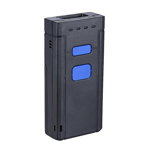 Aibecy portátil Bluetooth inalámbrico 1d Laser Barcode Scanner lector de escáner de mano Soporte...