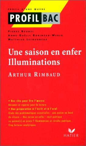 Une saison en enfer, Illuminations : Arthur Rimbaud