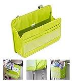 OurKosmos® Siège arrière de voiture Organizer Cover Protector et sac de rangement Dossier Magazine Document Organizer Bag Hanging