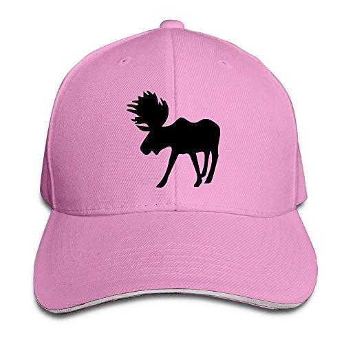 Presock Prämie Unisex Kappe Buffalo Moose-1 Adult Adjustable Snapback Hats - Stetson Buffalo