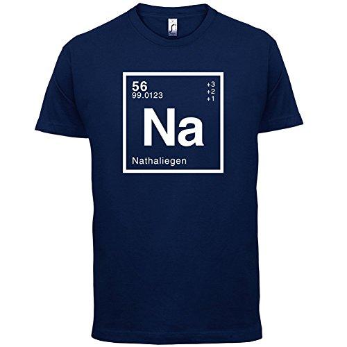 Nathalie Periodensystem - Herren T-Shirt - 13 Farben Navy