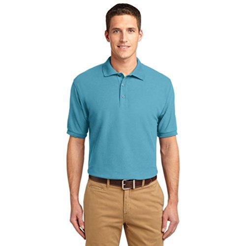 nuevo-port-authority-seda-touch-sport-maglietta-amarillo-dorato-m-maui-blue-us-xxxxl