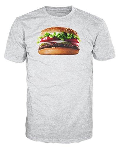 Haddaway Herren T-Shirt Grau Grau Gr. S, Grau - Grau