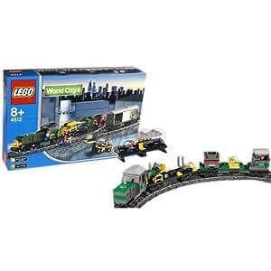 lego 4512 jeu de construction le train de marchandise jeux et jouets. Black Bedroom Furniture Sets. Home Design Ideas
