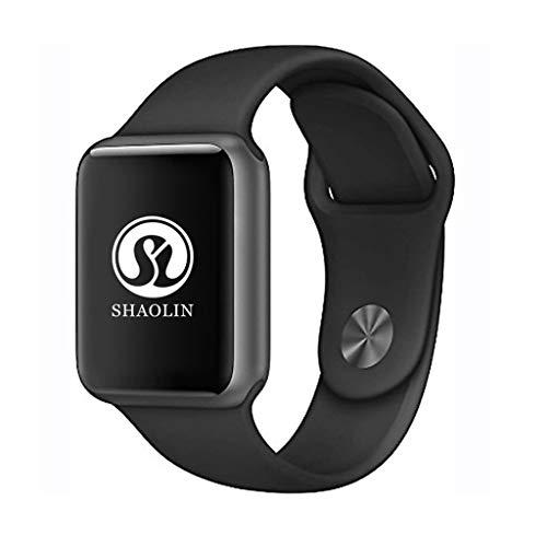 VERYNNA Smart Uhr 42mm Neue smart Watch Serie 4 Sport smartwatch Uhr für Apple iPhone 5 6 6s 7 8 x Plus für Samsung smart Watch Honor 3 Sony 2, schwarz Serie 4x6