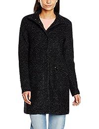 Asos abrigo leopardo pompones