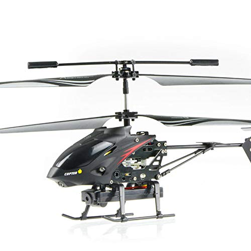 Pinjeer 3.5 Remote Control Radio Channels Metal Gyro RC Helicopter with Camera / RC Camera Helicopter Educational Birthday Gifts for Kids 8 +