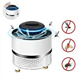 OOFAYWFD Mosquito Bug Killer Trap, Electronic Repellent with UV Light Insect Killer Safe