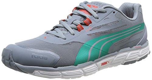 Puma Faas 500 S V2, Chaussures de running homme Gris (Tradewinds/Green/Grenadine)