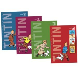 HERGE VOLUME 1-4 BOOKS COLLECTION GIFT SET (The Adventures of Tintin: Tintin...