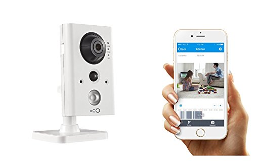 Oco Pro Indoor HD Video Monitoring Wi-Fi/PoE Camera with SD Card & Cloud  Storage - Full Plug and Play Kit