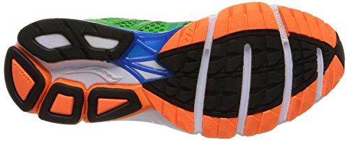 Saucony Jazz 17, Chaussures De Sport, Homme Vert Bleu / Orange