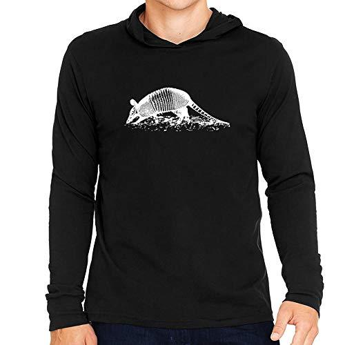 Idakoos Armadillo Sketch Kapuze Langarm T-Shirt M -