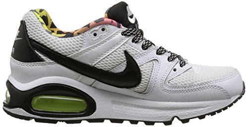 NikeAir Max Command FB GS - Sneaker Bambino Bianco (White/Black Volt Pink BlastWhite/Black Volt Pink Blast)