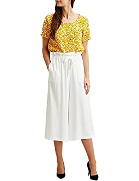 Vila Viamaly Culotte High Waist, Pantalones para Mujer
