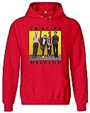 Photo de Vampire Weekend Band - Vampire Weekend Band Hoodie Sweatshirt Jumper Pullover for Men 80% Cotton 20% Polyester Clothing for Men par Speno Apparel