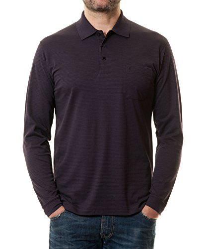 RAGMAN Herren Poloshirt Easy Care Kardinal-045