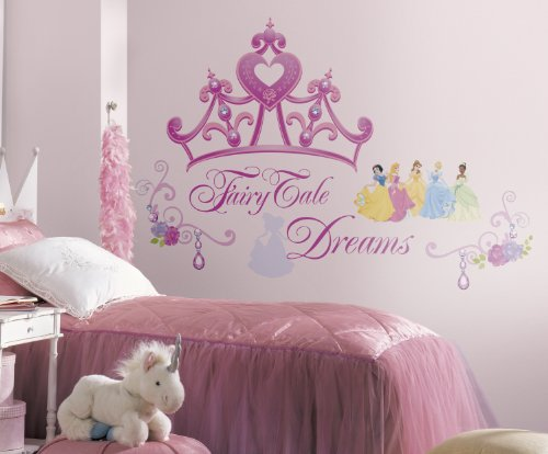 Asian Paints Nilaya Disney Princess - Princess Crown Giant wall sticker  available at amazon for Rs.500