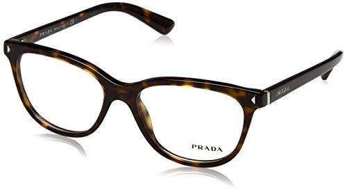 Prada Für Frau 14r Tortoise Kunststoffgestell Brillen, 52mm