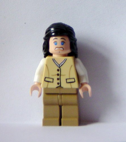 Lego Indiana Jones Mini-figure Marion Ravenwood (tan Outfit) Picture