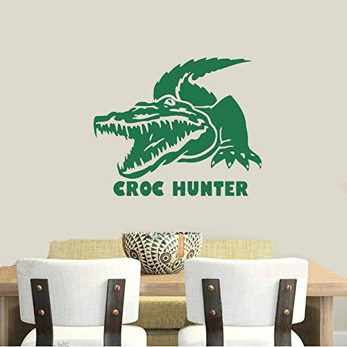 Hunt Croc Hunter Aufkleber Hunting Club Aufkleber Hollow Sticker Hunter Car für Wohnzimmer Schlafzimmer -
