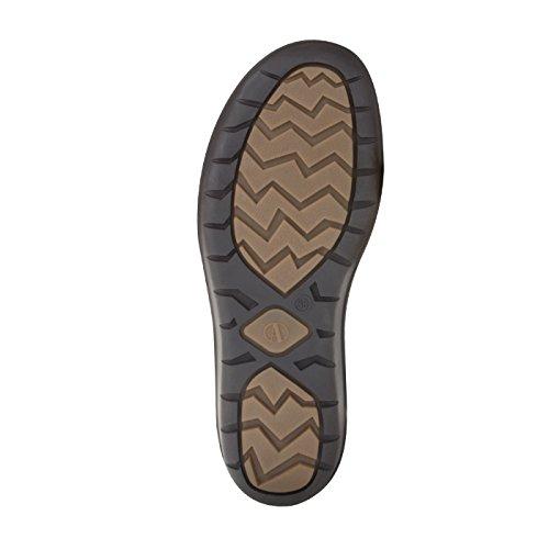 tessamino Damen Stiefel aus Tex-Membran und echtem Leder, Weite H Braun