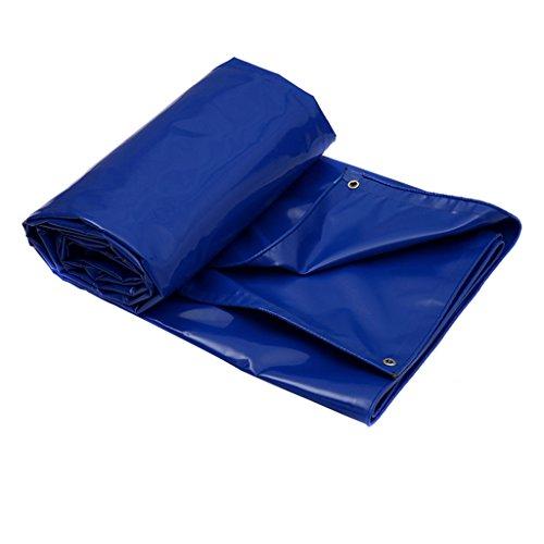 Ren Chang Jia Shi Pin Firm Plane-Plane der Plane im Freien Sonnencreme-Starke Tuchplane-Kratzer-Beständige Sonnenschutzmittel-LKW-Limousine-Segeltuchplanenplane (Color : Blue, Size : 6*4M)