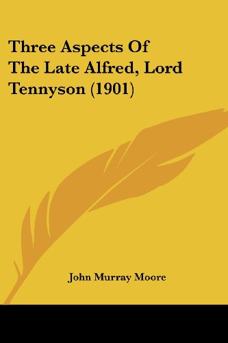 Three Aspects of the Late Alfred, Lord Tennyson (1901)