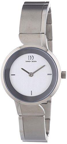 Danish Design - 3326599 - Montre Femme - Quartz Analogique - Bracelet Titane Argent